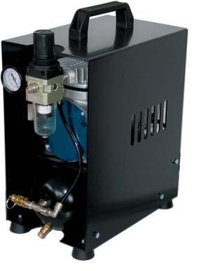 Compressore silenzioso a secco Werther TC108 Special NERO