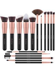 Brochas de Maquillaje EmaxDesign 17 piezas Pinceles