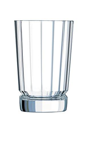 Cristal d'Arques 7501614 Boite de 6 Gobelets Hauts 36 cl MACASSAR D'ARQUES, Cristallin, Transparent, 27,9 x 18,8 x 13,8 cm