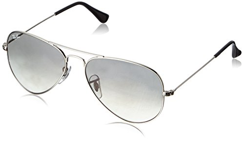 Ray-Ban Gradient Square Men's Sunglasses (0RB3025003/3255|55|Grey) image