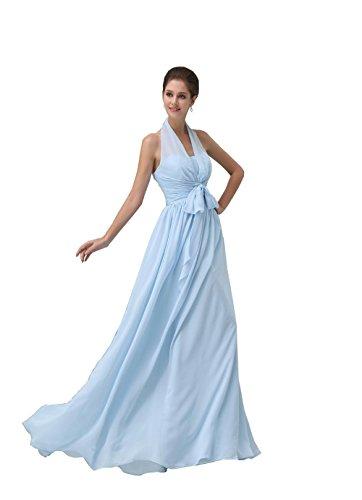 yiyadawn lunghi Backless Abito da sposa damigella d' onore abito Fest vestito per donna Menta Verde