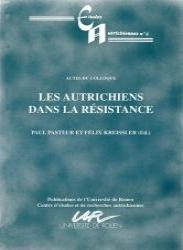 Les autrichiens dans la Résistance par Pasteur Kreissler
