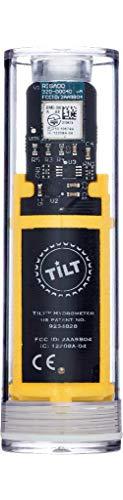 TILTTM Hydrometer und Thermometer, Gelb - volle Gärungskontrolle durch Funktechnik - Dichte und Temperatur prüfen vom Handy aus via App für Brauer und Hobbybrauer
