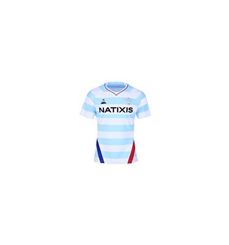 6e6f3ef4f8e83 Racing 92 2018 19 - Maillot de Rugby Réplique Domicile - Bleu 92 - Taille