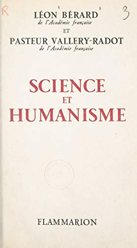 Science et humanisme (French Edition)