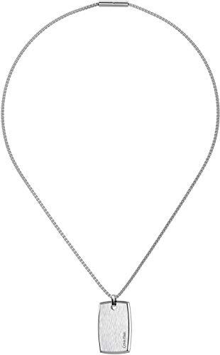 Calvin Klein Herren-Ketten mit Anhänger Edelstahl KJ0QMP080100