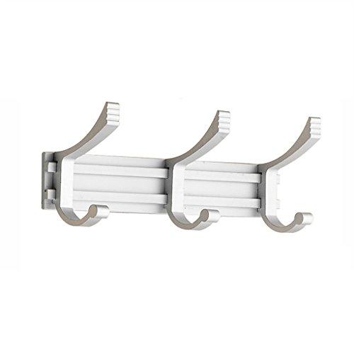 WLHW Schweberegale Haken-Regal-Aluminiumlegierungs-Tuch-Jacken-Bademantel (Größe : 35x195mm)