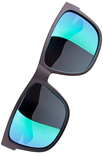 Verdster Mirrored Polarized Sunglasses for Men /& Women Comes With Hardcase /& Accessories Trendy /& Stylish Black Shades