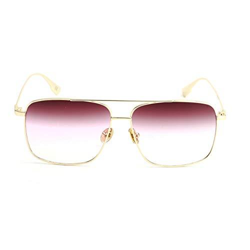 hlq Kleine Square Sonnenbrille, Marine Film, Fashion Street Sonnenbrillen, Sonnenbrille Unisex, Outdoor Sports Travel,C