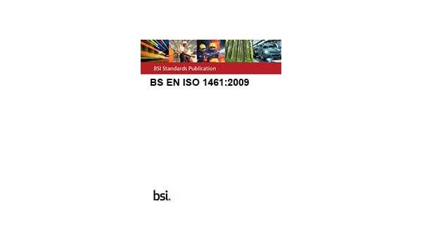 BS EN ISO 1461:2009: Amazon co uk: BSi: 9780580610882: Books