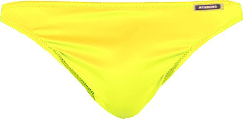 Red Point Beachwear, Homme, Tanga, Taille ESP: XXL, Jaune, Andros, Collection uni