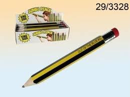 Doridia Imports Jumbo Bleistift mit Radiergummi