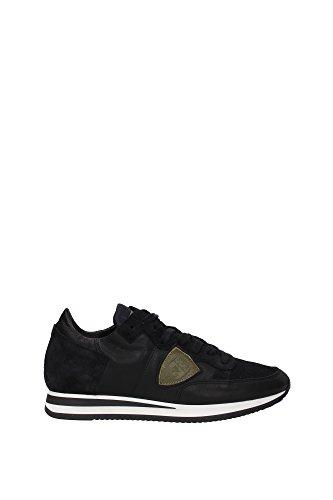 TRLUWL51 Philippe Model Sneakers Homme Cuir Noir Noir