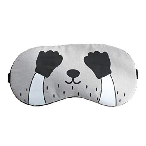 Augenmaske Schlaf Schattierung Unisex Komfortable Ohrstöpsel Reise Reise Tragbare Eisbeutel Lichtschranke Atmungsaktiv (Color : A) (Komfortable Ohrstöpsel)