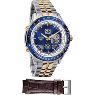 Accurist Men Interchangeable Chronograph Watch Best Price and Cheapest