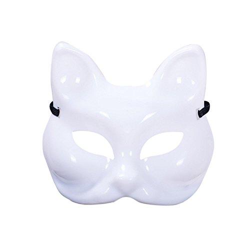 Halloween Maskerade Maske Abend Prom Mardi Gras Party Maske Gesichtsmaske für Frauen elegante Dame von yunhigh - (Latex Masken Billig)
