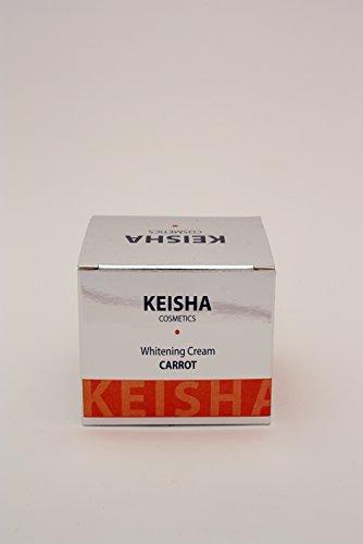 Schwarze Auf Gesicht Flecken (Keisha Kosmetik Karotte Hautaufheller 100ml intensive Aufhellung Creme - für Gesicht, Körper, Hände und hilft Dunkel Marks & Flecken und Tupfen)