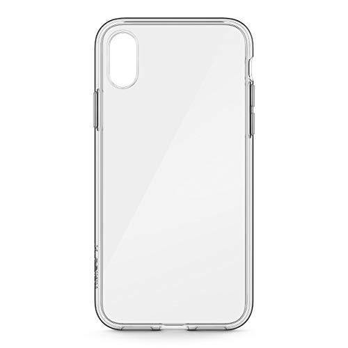 Belkin SheerForce - Funda InvisiGlass para iPhone X, Transparente