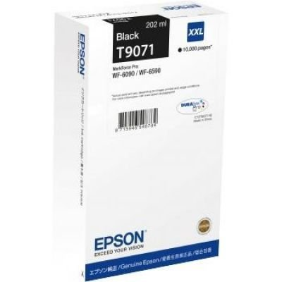Preisvergleich Produktbild Epson C13T907140 Tintenpatrone WF-6xxx, XXL, schwarz