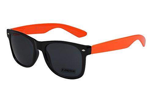 X-CRUZE 8-084 X0 Nerd Sonnenbrille Retro Vintage Design Style Stil Unisex Herren Damen Männer...