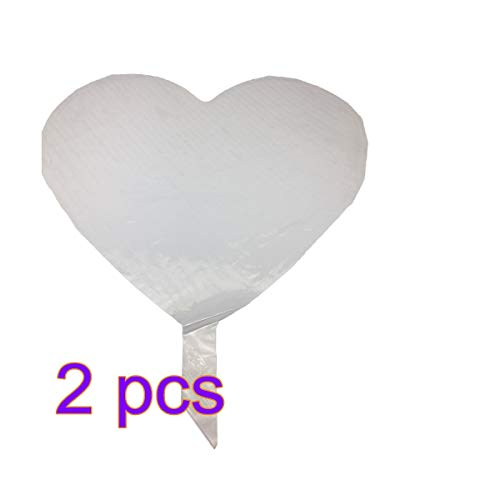 4 STÜCKE LED Herz Liebe Wubble Blase Ball Leuchten BoBo Ballons Helium Tanks Für Ballons Dekoration für Party Weihnachten Valentinstag