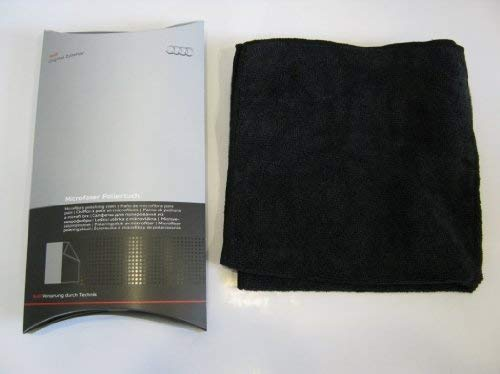 Audi 00A 096 325 020 Reinigungstuch Mikrofaser Poliertuch, Schwarz
