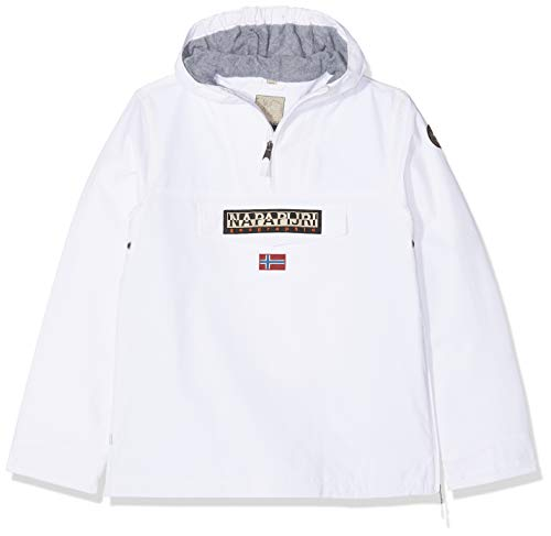 Napapijri K Rainforest 1 Chaqueta, Blanco (Bright White 002), 170 (Talla del...