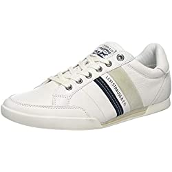 Levis Footwear and Accessories Turlock, Zapatillas para Hombre, Blanco (Regular White 51), 44 EU
