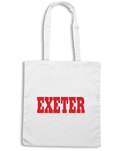 T-Shirtshock - Borsa Shopping WC0724 EXETER Bianco