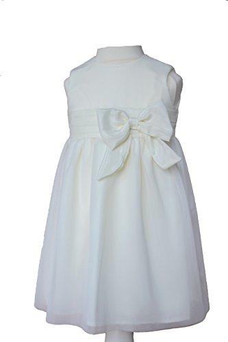 Sonia Edles Taufkleid Festkleid Blumenmädchenkleid Ivory (68-6M)