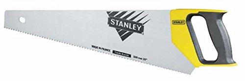 Stanley 1-20-010 Scie égoïne Universelle réaffûtable moyenne section 500 mm