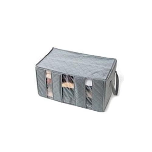 Frische Kleidung Speichert (AOAO Bambuskohle absorbiert Schuhspeichertasche, Deodorant transparente Fenster Aufbewahrungsbox, geeignet für Home Finishing)