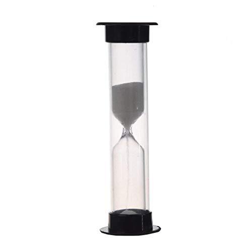Sanduhr - SODIAL(R) Multifarbige Sanduhr 1-10 Minuten (Schwarz 1 Minute)