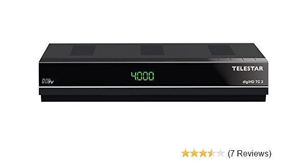 Telestar digiHD TC 2 HDTV Kabel Receiver (Display, Conax Kartenleser