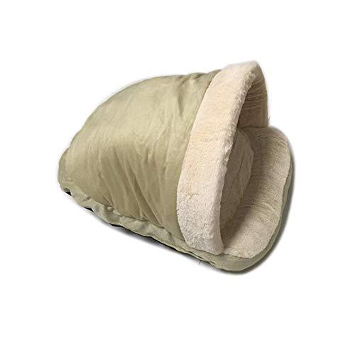 Chengstore Katzen-Schlafsack, weich, warm, Winddicht