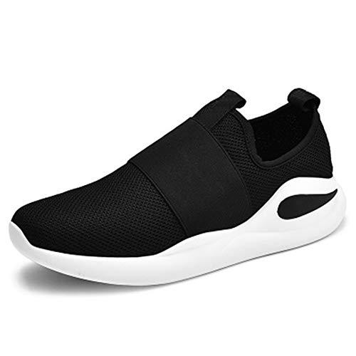 Leobtain Herren Sneaker Road Running Schuhe Atmungsaktives Mesh Leichte Sportliche Freizeit Schuhe