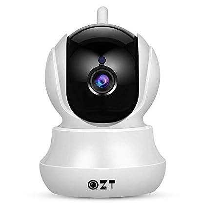 Cámara IP, Cámara de Vigilancia QZT 1080P Wifi ...