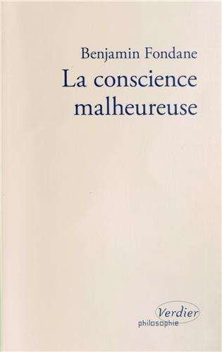 La conscience malheureuse par Benjamin Fondane