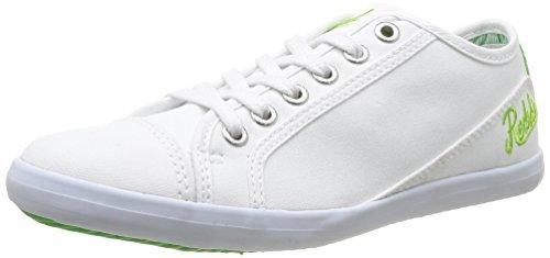 Clearblue - Hobbol Cadet, Scarpe da bambini e ragazzi Bianco (Blanc  (Blanc/Vert))