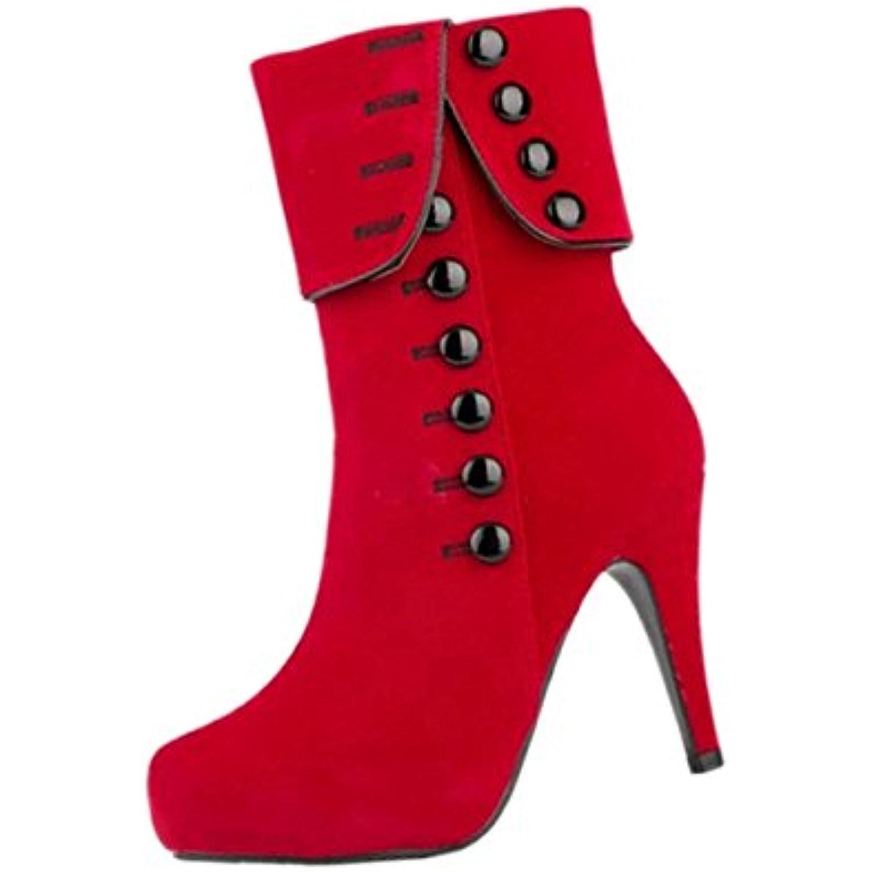 cba923510dc7d femmes de Bottines - SODIAL R Bottines Sexy de femmes plate-forme  Chaussures a talons hauts et fins Bottines de party - B0178VCIIK - 9eaf69