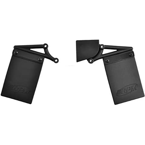 Mud Flaps & Number Plate Kit (use with RPM73112) by RPM R/C (Flap Mud Kit)