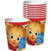 amscan Tasse Daniel Tiger 1ST 255 ml Standard Mehrfarbig (Tiger Daniel Dekorationen)