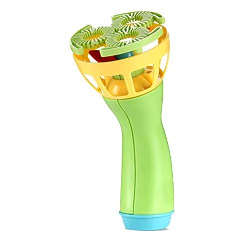 Wascoo Spielzeug Lernspielzeug Kindertagesgeschenk,Elektrische Blase Zauberstäbe Maschine Bubble Maker Automatisches Gebläse Outdoor Spielzeug für Kinder