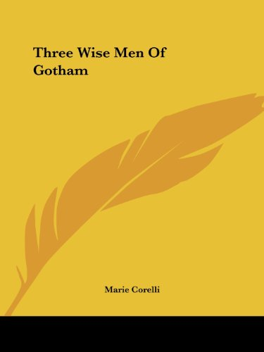 Three Wise Men of Gotham Cover Image