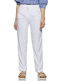 67e18232444e2 Linen Women's Trousers: Buy Linen Women's Trousers online at best ...