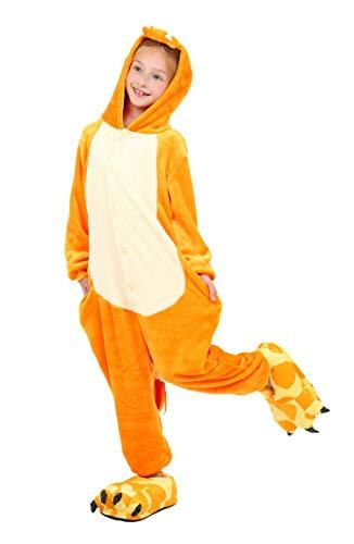 Kids Pyjama Panda Kostüm - Yuson Girl Kinder Pyjamas Tier Einhorn Jumpsuit Nachtwäsche Unisex Cosplay Kostüm für Mädchen und Jungen Kinder Cosplay Halloween