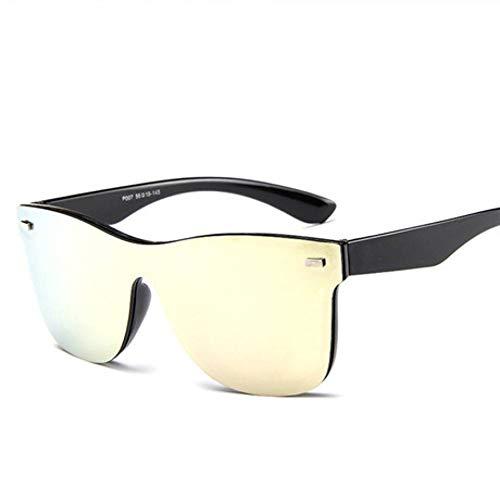 ZRTYJ Sonnenbrille Mode Frauen Sonnenbrillen Classic Square Shades Sonnenbrille Mode Niet Retro Vintage Sonnenbrille Uv400