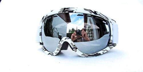 RAVS Skibrille Schutzbrille Bergbrille Gletscherbrille ski Goggle Camouflage