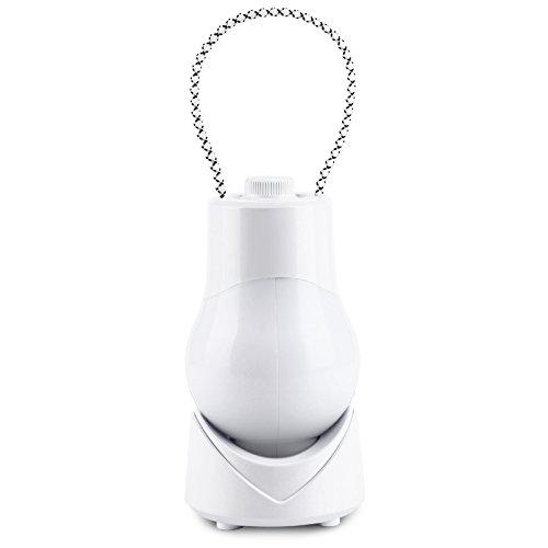 LaDicha Tragbare Musik Nachtlicht Led Dimmen Timing Lamp USB Wiederaufladbare Outdoor-Laterne - Y - Weiß
