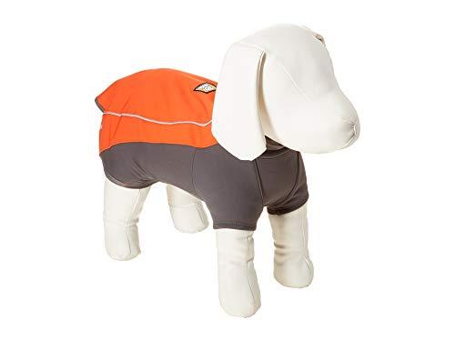 Ruffwear Wasserdichte Hunde-Jacke mit Fleece-Innenfutter, Mittelgroße Hunderassen, Größe: M, Rot (Sockeye Red), Cloud Chaser, 05103-601M Rei Soft Shell